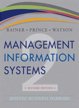 Cover of Management Information Systems 2E + WileyPlus Registration Card