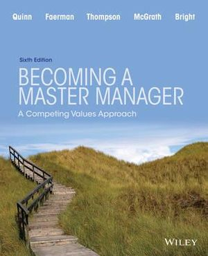 Cover of Becoming a Master Manager