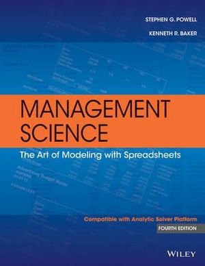 Cover of Management Science