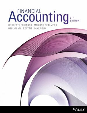 Cover of Financial Accounting 9E Binder Ready Version