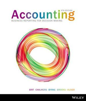 Cover of Accounting Business Reporting for Decision Making 5E