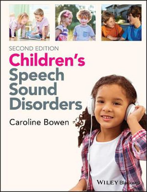 Cover of Children's Speech Sound Disorders