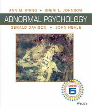 Cover of Abnormal Psychology 12th Edition DSM-5 Update