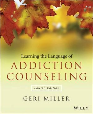 Cover of Learning the Language of Addiction Counseling