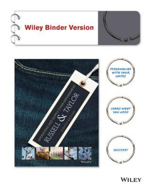 Cover of Operations and Supply Chain Management, Binder Ready Version
