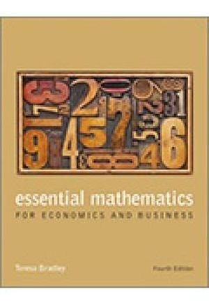 Cover of Essential Mathematics for Economics and Business 4E Book Card