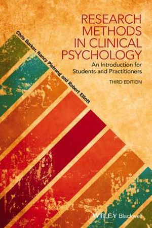 Cover of Research Methods in Clinical Psychology