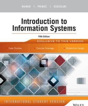 Cover of Introduction to Information Systems