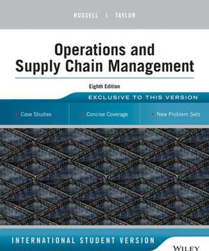 Cover of Operations Management: Creating Value Along the Supply Chain