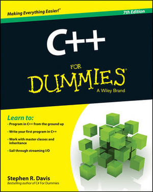 Cover of C++ For Dummies