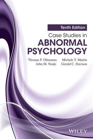 Cover of Case Studies in Abnormal Psychology