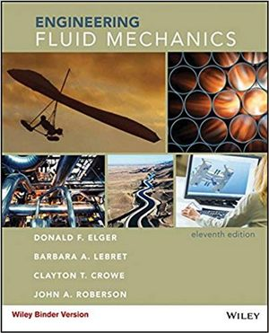 Cover of Engineering Fluid Mechanics, Binder Ready Version