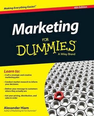 Cover of Marketing For Dummies