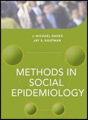 Cover of Methods in Social Epidemiology