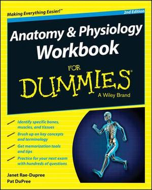 Cover of Anatomy and Physiology Workbook For Dummies
