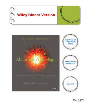 Cover of Abnormal Psychology, Binder Ready Version