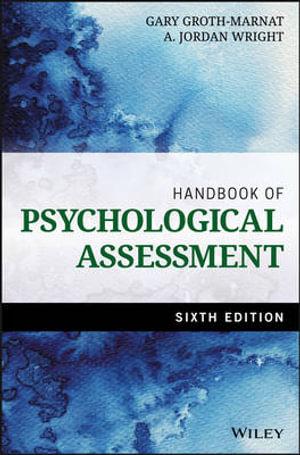 Cover of Handbook of Psychological Assessment