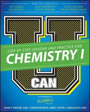 Cover of U Can: Chemistry I For Dummies
