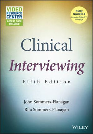 Cover of Clinical Interviewing, with Video Resource Center
