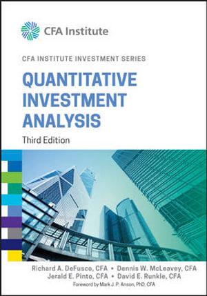 Cover of Quantitative Investment Analysis