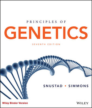 Cover of Principles of Genetics, Binder Ready Version