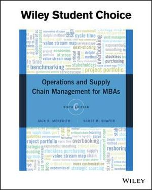 Cover of Operations Management for MBAs 6E