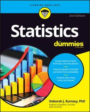 Cover of Statistics For Dummies