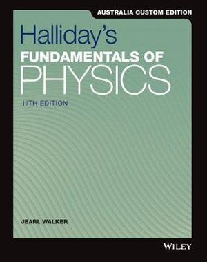 Cover of Fundamentals of Physics, 11e Australia and New Zealand Edition