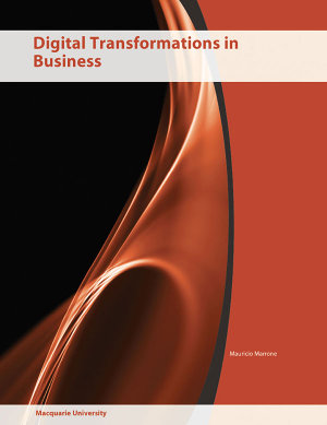 Cover of (Aucs) Digital Transformations in Business F/Macquarie B&w