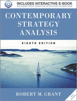 Cover of Contemporary Strategy Analysis Text Only