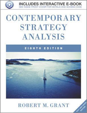 Cover of Contemporary Strategy Analysis