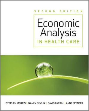 Cover of Economic Analysis in Healthcare