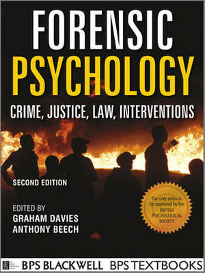 Cover of Forensic Psychology