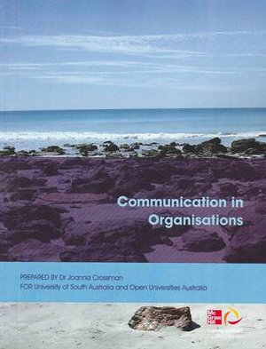 Cover of Communication in Organisations