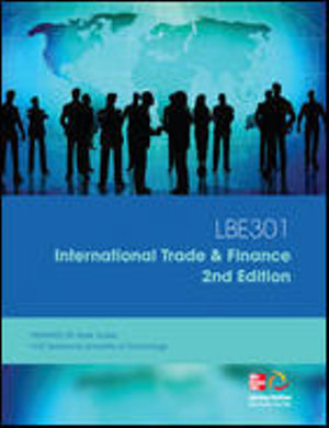 Cover of FIN30013 International Trade & Finance and FIN30015 International Finance