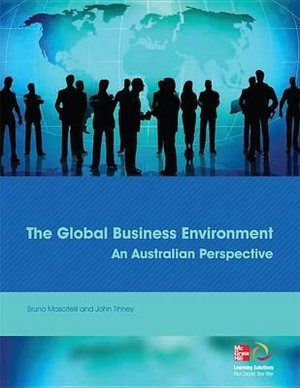 Cover of The Global Business Environment: an Australian Perspective