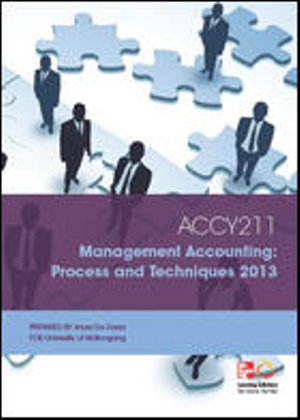 Cover of CUST Management Accounting
