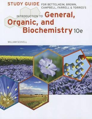 Cover of Introduction to General, Organic and Biochemistry Study Guide