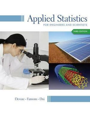 Cover of Applied Statistics for Engineers and Scientists