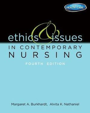 Cover of Ethics and Issues in Contemporary Nursing
