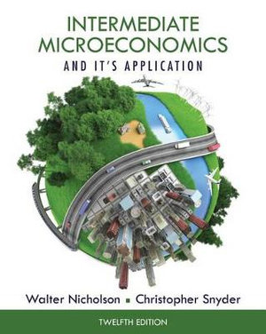 Cover of Intermediate Microeconomics and Its Application (Book Only)