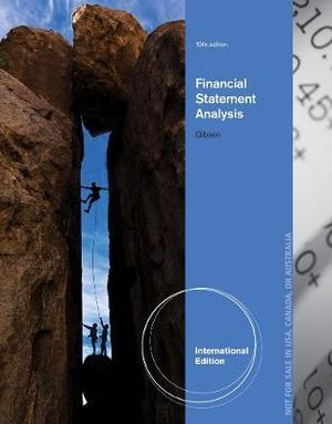 Cover of Financial Statement Analysis