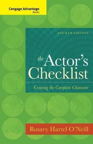 Cover of The Actor's Checklist
