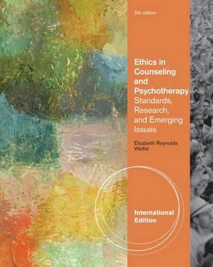 Cover of Ethics in Counseling and Psychotherapy