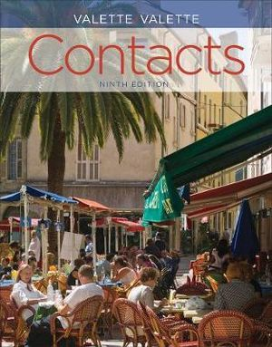 Cover of Contacts: Langue et culture françaises