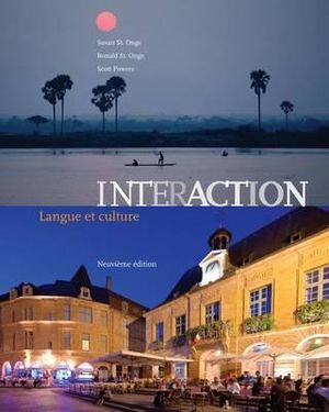 Cover of Interaction: Langue et culture (Book Only)