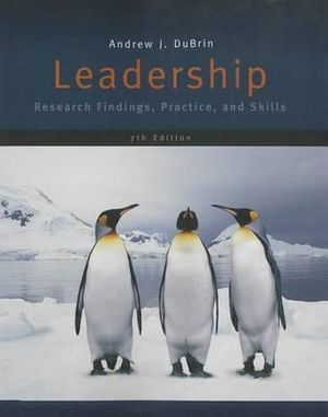 Cover of Leadership : Research Findings, Practice, and Skills