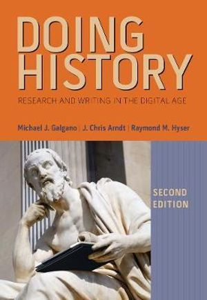 Cover of Doing History: Research and Writing in the Digital Age