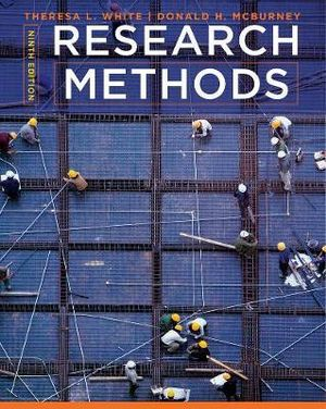 Cover of Cengage Advantage Books: Research Methods
