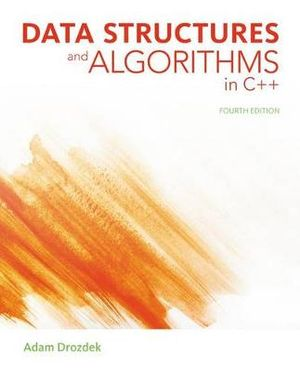 Cover of Data Structures and Algorithms in C++